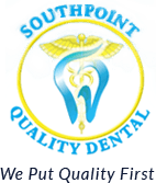Southpoint Quality Dental Logo - We Put Quality First