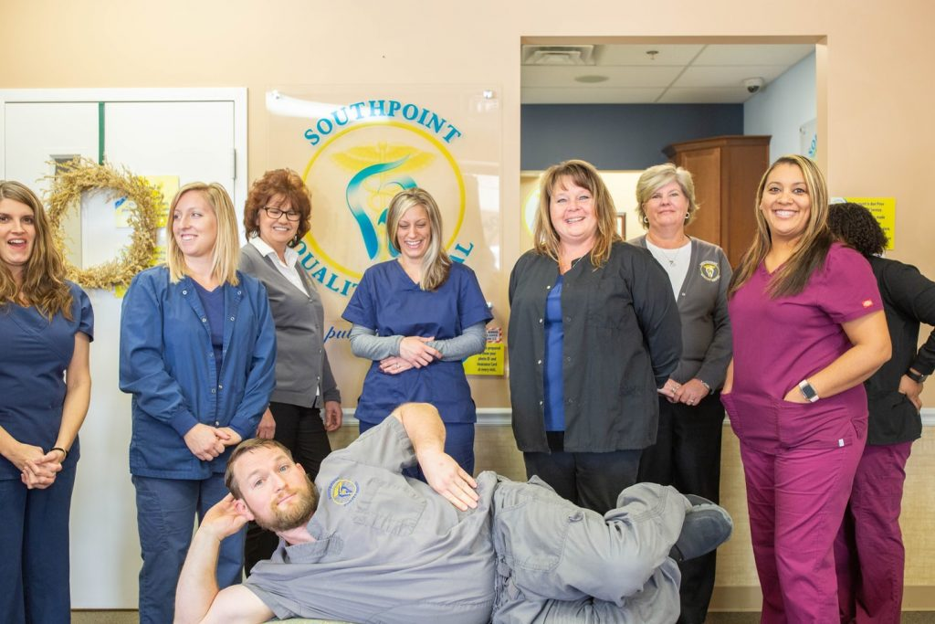 Goofy photo of Southpoint Dental Team