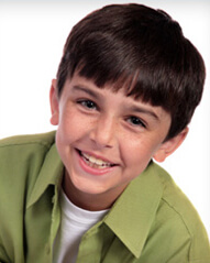 Tooth Development and Care - Smiling Boy